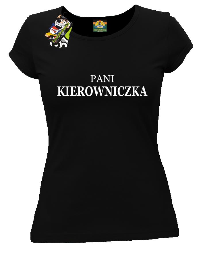 0e7b54615 Pani kierowniczka - koszulka damska - Koszulkolandia