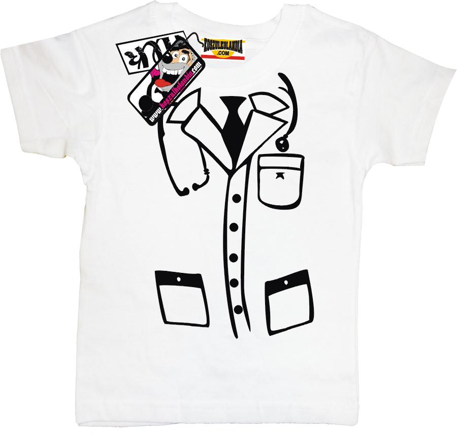 Koszulka Ala Fartuch Lekarski Dla Doktora Koszulka Dziecięca