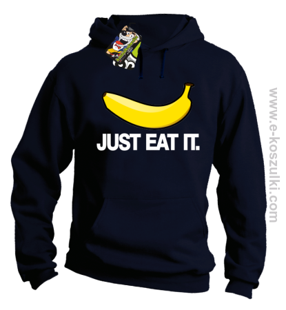 JUST EAT IT Banana - bluza z kapturem