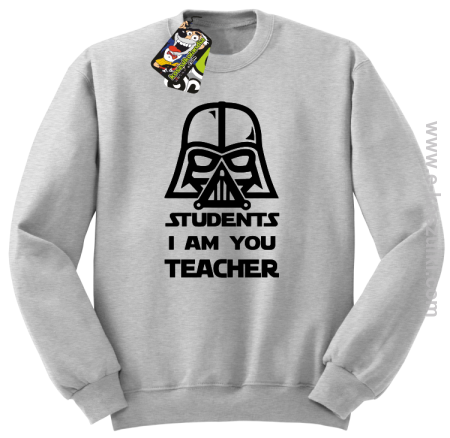 STUDENTS I`m you teacher - bluza standard bez kaptura