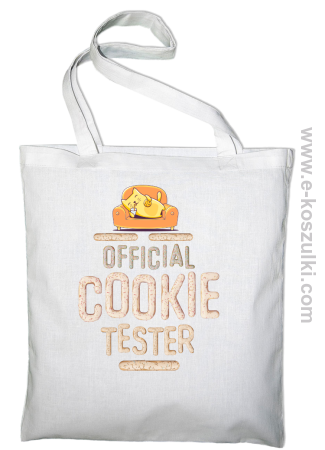 Official Cookie Tester - torba z nadrukiem
